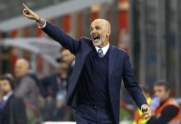 """Netikėtas posūkis: naujuoju """"Milan"""" treneriu taps ne L. Spalletti, o S. Pioli"""