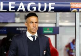 """""""Lyon"""" krečia pokyčiai: iš trenerio pareigų atleistas brazilas Sylvinho"""