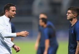 """F. Lampardas apie C. Pulisico situaciją: """"Kartais tenka priimti nemalonius sprendimus"""""""