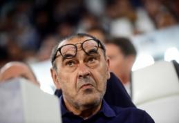"""M. Sarri prieš akistatą su """"Inter"""": """"Šioje dvikovoje favoritų nėra"""""""