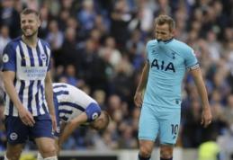 """Po pažeminimo neatsigavęs """"Tottenham"""" krito ir prieš """"Brighton"""""""
