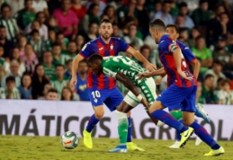 """""""Real Betis"""" ir vėl liko be pergalės Ispanijos pirmenybėse"""