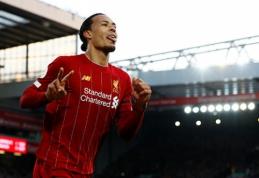 """""""Liverpool"""" džiaugėsi pergale, """"Chelsea"""" patyrė smūgį"""