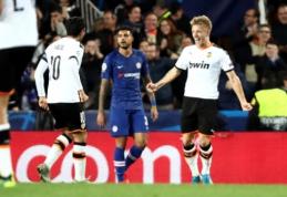 "Fantastiškoje kovoje – ""Valencia"" ir ""Chelsea"" komandų lygiosios"