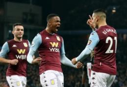 """""""Aston Villa"""" pirmajame kėlinyje susitvarkė su """"Newcastle"""""""