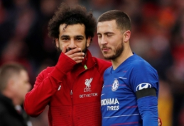 """E. Hazardas: """"Ballon d'Or"""" apdovanojimo nusipelno """"Liverpool"""" žaidėjas"""""""