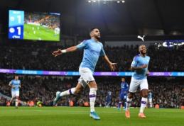 """Už klaidas """"Chelsea"""" komandai nedovanojęs """"Man City"""" iškovojo svarbią pergalę"""
