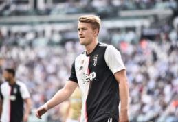 "P.Kluivertas: M.de Ligtas gailisi pasirinkęs ""Juventus"""