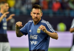 """Teisėjavimu nusivylęs Tite: """"Messi man liepė užsičiaupti"""""""
