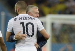 Prancūzai reikalauja į rinktinę grąžinti K. Benzemą