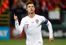 F. Santosas neturi abejonių: C. Ronaldo galės žaisti prieš Lietuvą