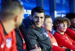 """A. Morata: """"Chelsea"""" klube nustojau mėgautis futbolu"""""""