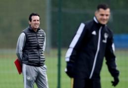 """P. Vieira: """"Arsenal"""" nieko nepasiektų atleidęs Emery"""""""