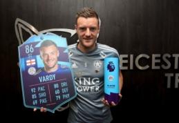 """Spalį geriausi """"Premier"""" lygoje – J. Vardy ir F. Lampardas"""