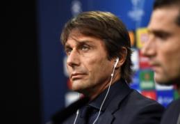 "A. Conte prieš dvikovą Dortmunde: ""Suprantame, kokia atmosfera mūsų laukia"""