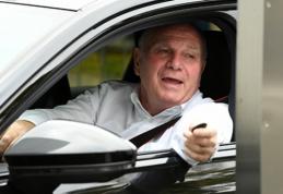 """U.Hoenessas pranešė, kada paaiškės naujasis """"Bayern"""" vairininkas"""