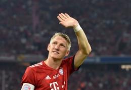 """B. Schweinsteigeris: """"Įsivaizduoju Mourinho """"Bayern"""" komandoje"""""""