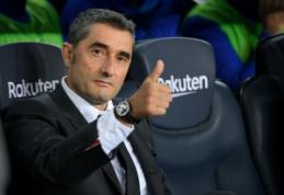 """Klausimo apie atsistatydinimą sulaukęs E. Valverde: """"Tai tik pralaimėjimas"""""""