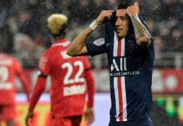 Prancūzijos pirmenybių autsaideriai patiesė PSG ekipą