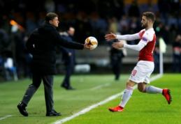 """""""Sūduvos"""" akiratyje – """"Arsenal"""" ekipą Europos lygoje nubaudęs specialistas iš Baltarusijos"""