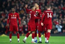 """M. Owenas tiki, kad """"Liverpool"""" sezoną Anglijoje gali užbaigti be pralaimėjimų"""