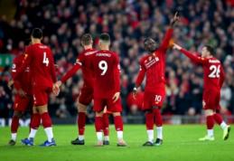 """Anglijoje – nelengvos """"Liverpool"""" ir """"Man City"""" ekipų pergalės"""