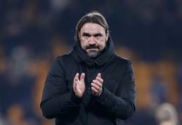 """""""Norwich"""" treneris po lygiųjų su """"Tottenham"""": """"Šį sezoną nė vienas sprendimas nebus mūsų naudai"""""""