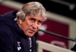 """Dar vieno pralaimėjimo neapsikentęs """"West Ham"""" atleido M. Pellegrini"""