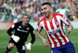"""""""Atletico"""" palaužė """"Real Betis"""", """"Real Sociedad"""" triumfavo septynių įvarčių dramoje"""