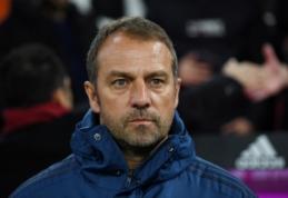 """Oficialu: H. Flickas iki sezono pabaigos diriguos """"Bayern"""" komandai"""