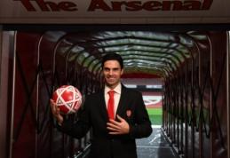 """C. Nicholas apie permainas """"Arsenal"""" klube: """"Arteta yra puikus pasirinkimas"""""""