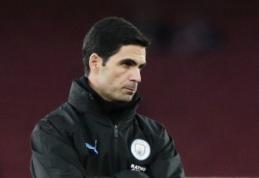 """Sugrįžimui į """"Arsenal"""" besiruošiantis M. Arteta paliko """"Man City"""" stovyklą"""