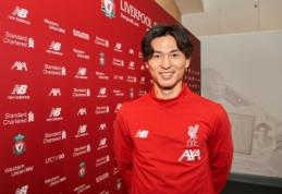 """Oficialu: """"Liverpool"""" įsigijo talentingą japoną"""