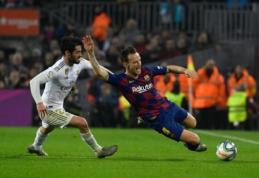 """Pirmajame kėlinyje dominavęs """"Real"""" iš """"Camp Nou"""" grįžta su nulinėmis lygiosiomis"""