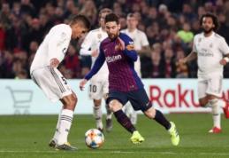 """R. Varane: """"Prieš Messi neįmanoma apsiginti taip, kaip prieš kitus"""""""