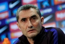 """E. Valverde prieš """"El Clasico"""": """"Laukia intensyvi kova"""""""