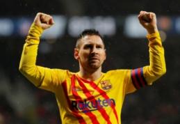 """L. Messi: """"Real"""" yra sunkiau įveikiamas """"Camp Nou"""" nei """"Bernabeu"""" stadione"""""""