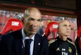"""Z. Zidane'as prieš """"El Clasico"""": """"Tai, kas vyksta už aikštės ribų, mūsų nejaudina"""""""