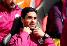 """""""Arsenal"""" veda derybas su M. Arteta"""