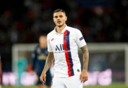 """PSG sutraiškė """"Saint-Etienne"""", o pastarųjų fanai užkūrė tikrą pirtį"""