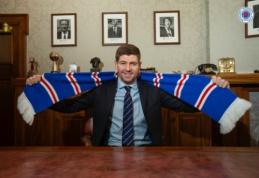 """S. Gerrardas susiejo ateitį su """"Rangers"""""""