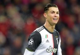 """C. Ronaldo apie Čempionų lygos burtus: """"Su """"Real"""" norėčiau susitikti finale"""""""