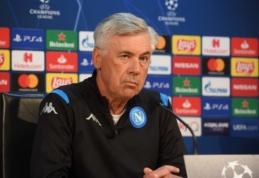 """G. Sounessas: """"Toks treneris, kaip Ancelotti, nepriims """"Arsenal"""" pasiūlymo"""""""