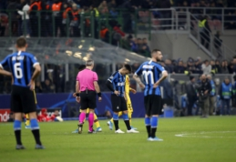 """""""Inter"""" ir """"Ajax"""" klubai eliminuoti iš UEFA Čempionų lygos"""