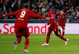 """Beveik valandą intrigą kūręs """"Salzburg"""" pripažino """"Liverpool"""" pranašumą, A. Milikas pasižymėjo """"hat-tricku"""""""