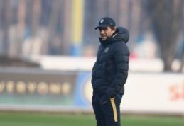 """A. Conte: """"Dalyvavimas kitame Čempionų lygos etape yra svarbus žaidėjams"""""""