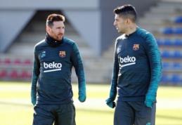 """Barcelona"" į Milaną išvyko be L. Messi"