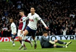 """""""Tottenham"""" surengė įvarčių fiestą mače su """"Burnley"""", """"Liverpool"""" ir toliau nesustabdomas"""