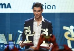"""C. Ronaldo pripažintas geriausiu praėjusio sezono """"Serie A"""" žaidėju"""