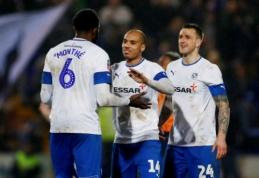 """Trečios Anglijos lygos klubas eliminavo """"Watford"""" iš FA taurės"""